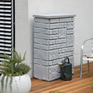 Maurano Rainwater Tank – stone wall effect water storage for the garden