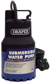 SUBMERSIBLE WATER PUMP WITH 120L/MIN 200W 230V