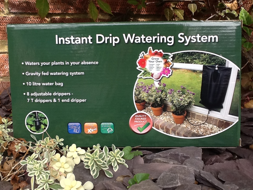 Instant Drip Watering System-  Damaged box
